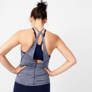 New Balance│for J.Crew Free Flow Tank Top Grey